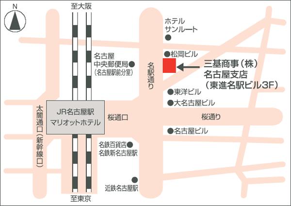 横浜支店地図