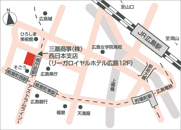 西日本支店地図