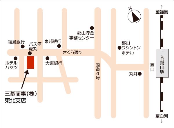 東北支店地図