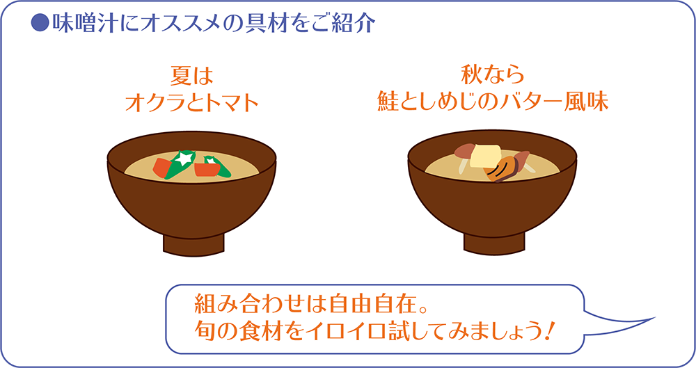 味噌汁アレンジ紹介